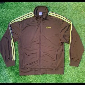 Adidas Full Zip Track Jacket Medium